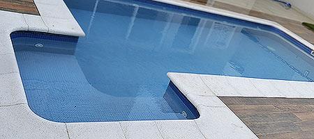 Bordas para piscinas