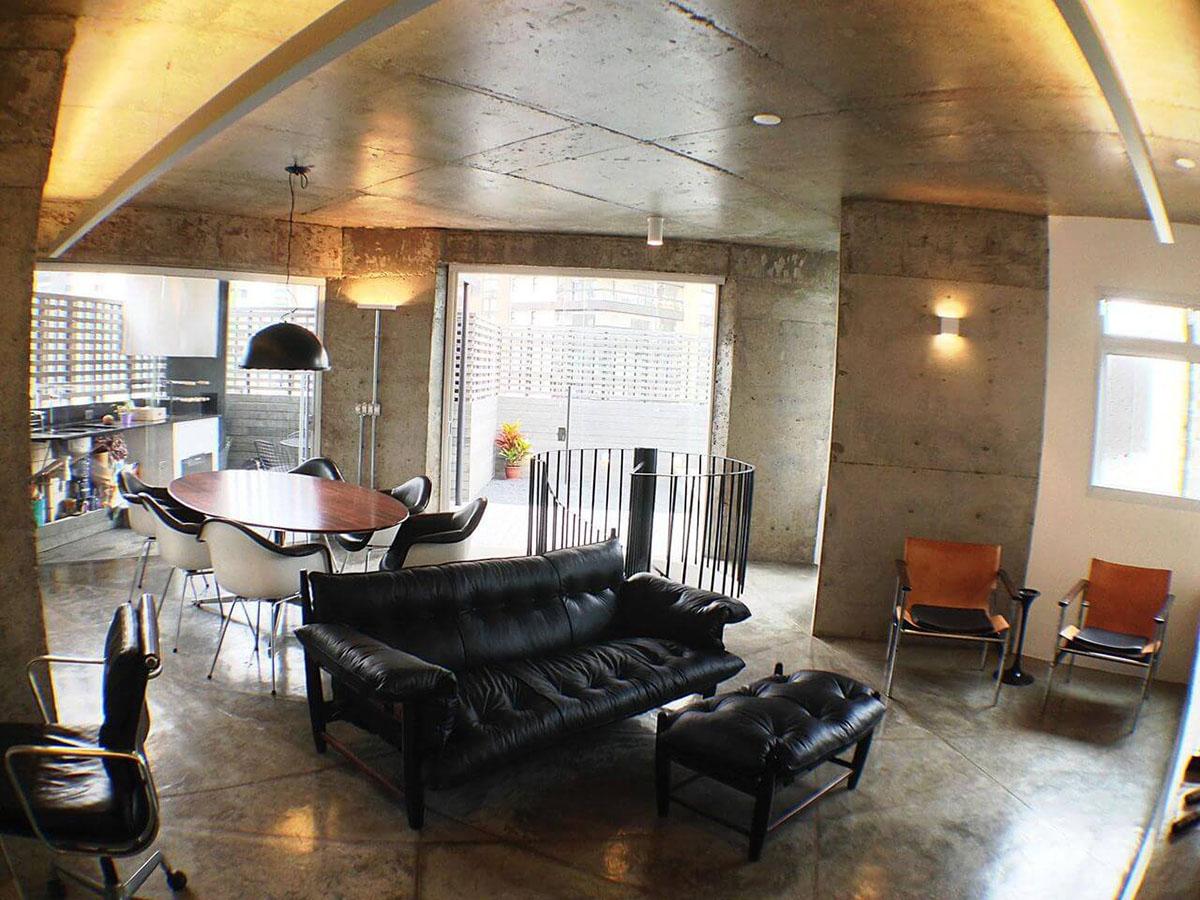 piso para sala de estar