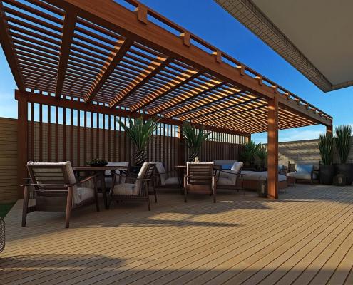 piso para deck
