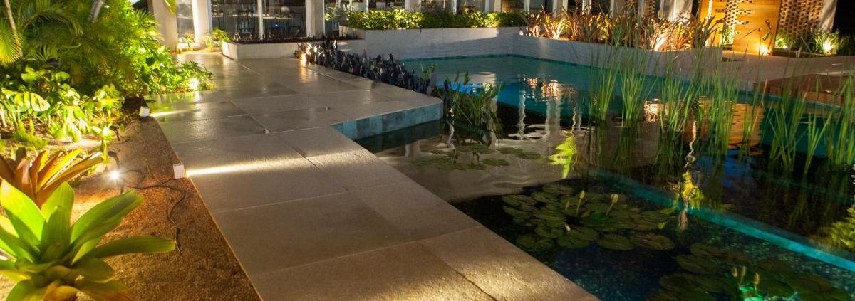 Bordas para piscina de concreto